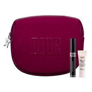 Dior 3 set sampler with a pouch